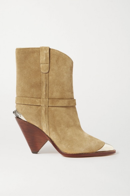 Isabel Marant - Bottines en daim
