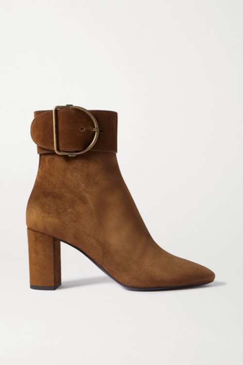 Saint Laurent - Bottines en daim