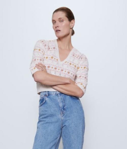 Zara - Pull jacquard