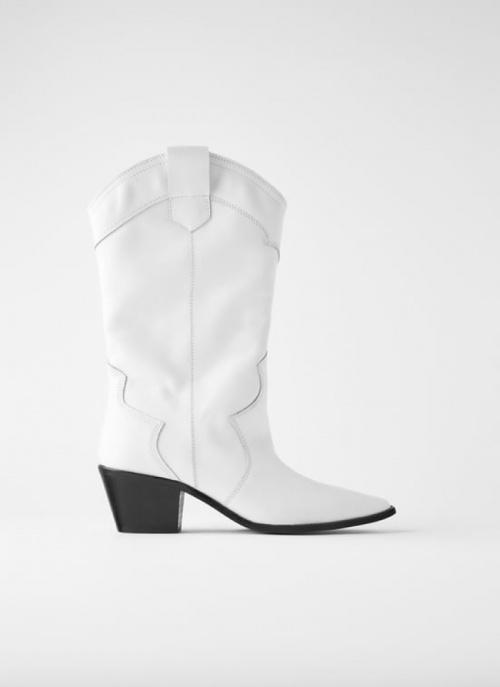 Zara - Bottines cowboy