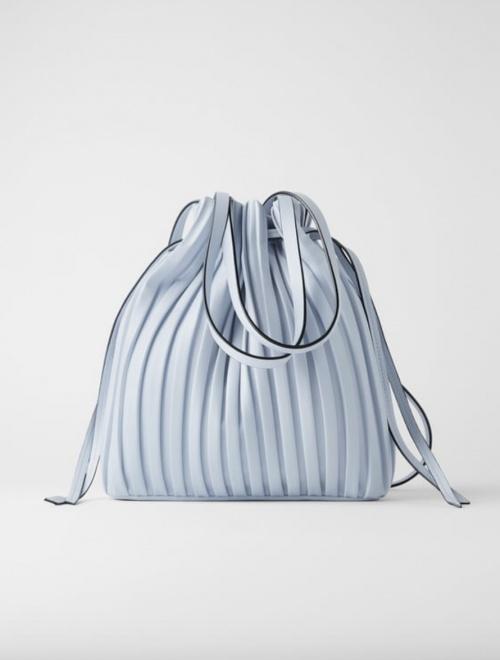 Zara - Sac seau plissé