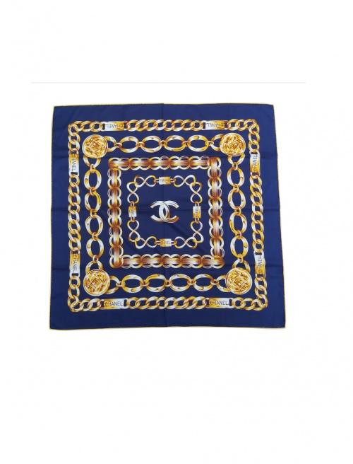 Chanel - Foulard en soie