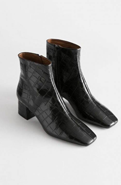 &Othertsories -Boots crocodile
