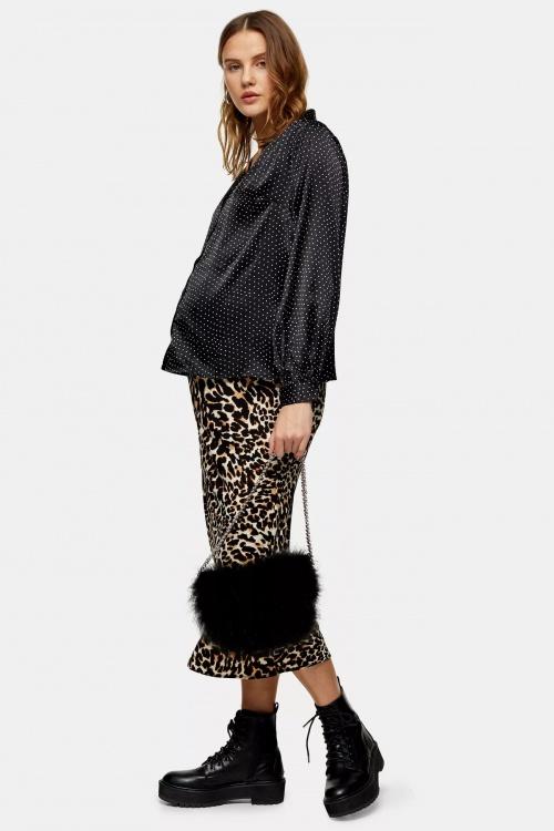 Topshop - Jupe léopard