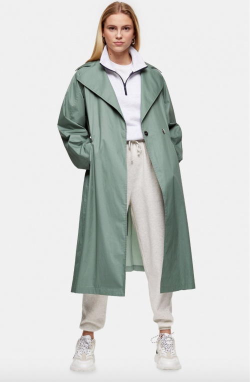 Topshop - Trench pastel