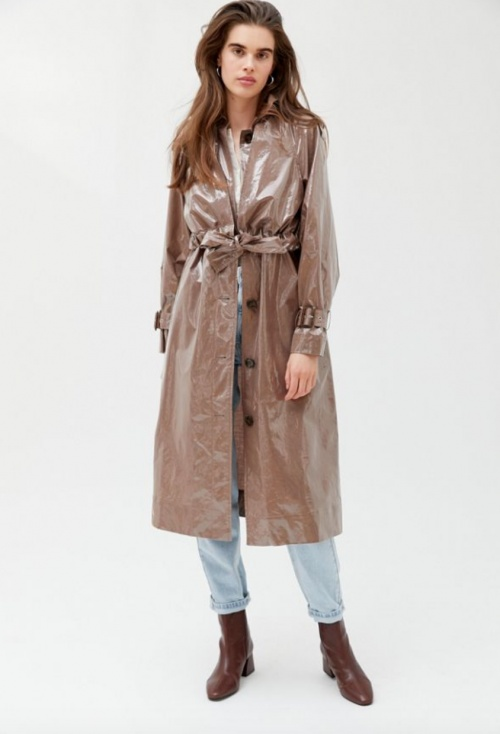 Urban Outfitters - Trench simili cuir