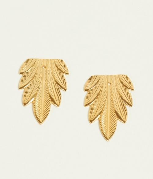 LOU YE TU - Boucles feuilles