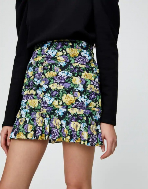 Pull & Bear - Mini jupe à volants
