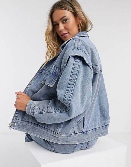 Pull & Bear - Veste en jeans