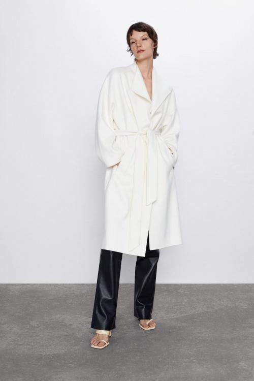 Zara - Manteau ceinturé