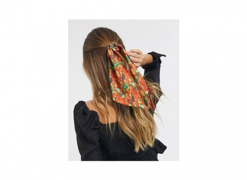 ASOS DESIGN - Foulard à cheveux à imprimé léopard jungle