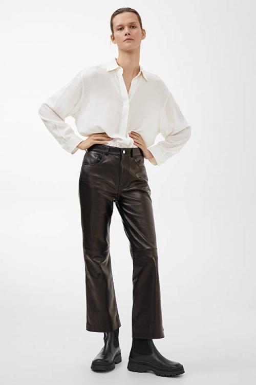 Arket - Pantalon en cuir