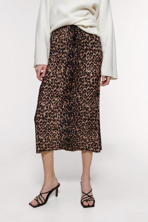 Zara - Jupe imprimé léopard