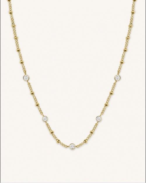 Rosefield - Collier cristaux Swarovski