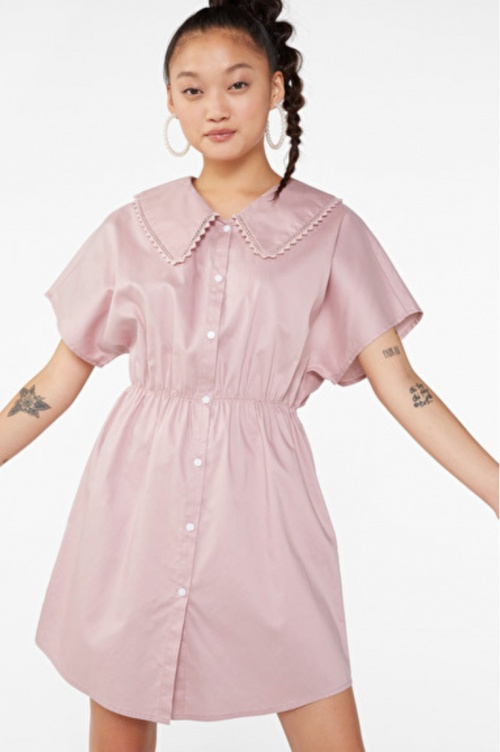 Monki - Robe col Claudine