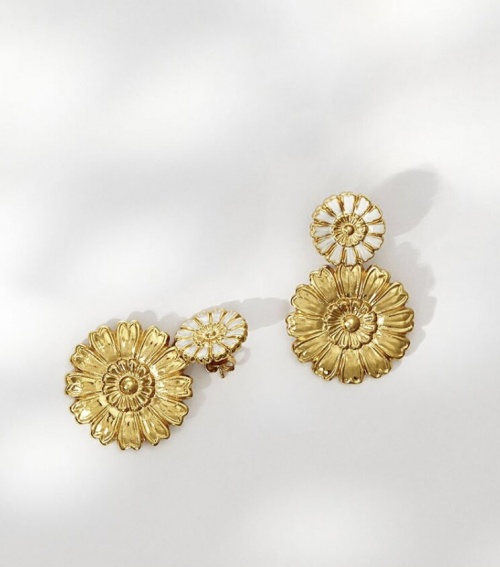 Louise Damas - Boucles marguerites