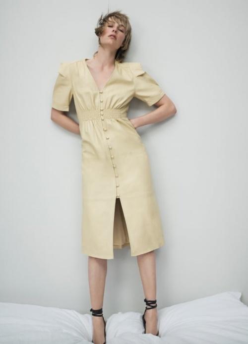 Zara - Robe cuir