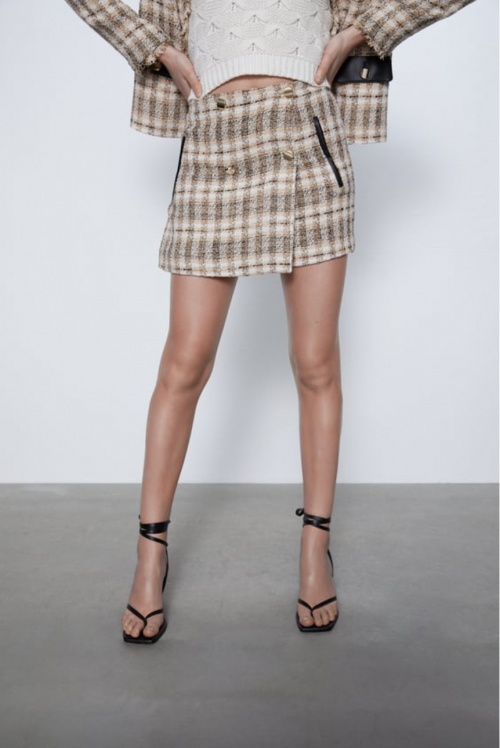 Zara - Short en tweed