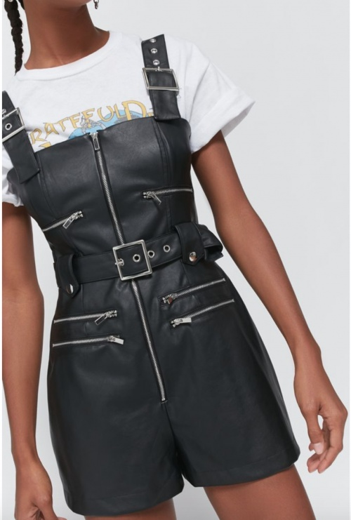 Urban Outfitters - Combinaison simili cuir