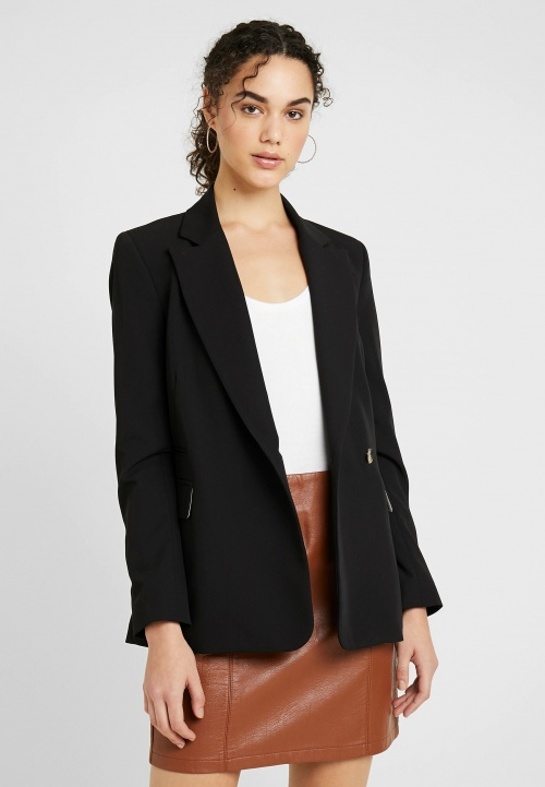 Topshop - Blazer noir oversized