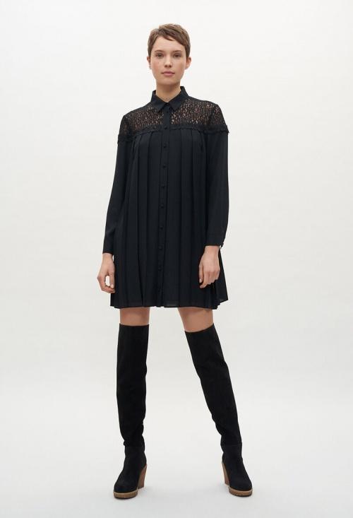 Claudie Pierlot - Robe plissée