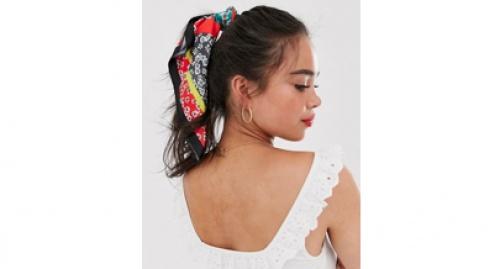 Asos -  Foulard cou et tête à petites fleurs - Multicolore
