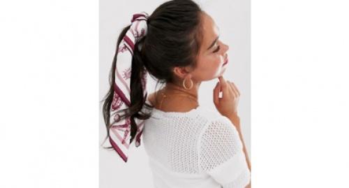 Asos - Foulard cou et tête à imprimé coquillages