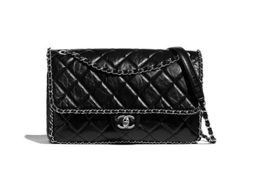 Chanel - Grand sac à rabas