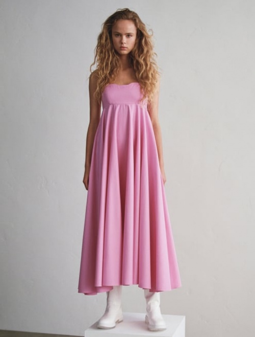 Zara - Robe popeline