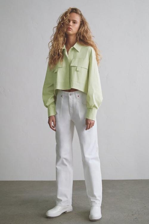 Zara - Jean blanc