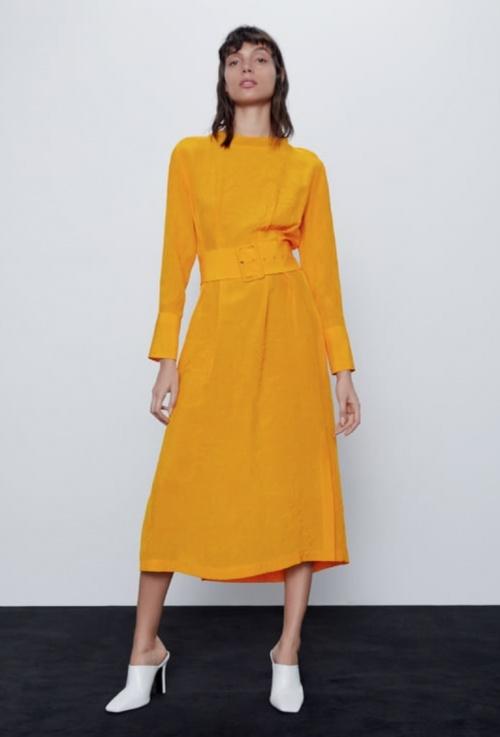 Zara - Robe mi-longue