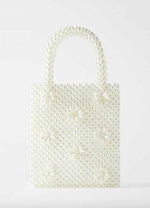Zara - Sac seau perles