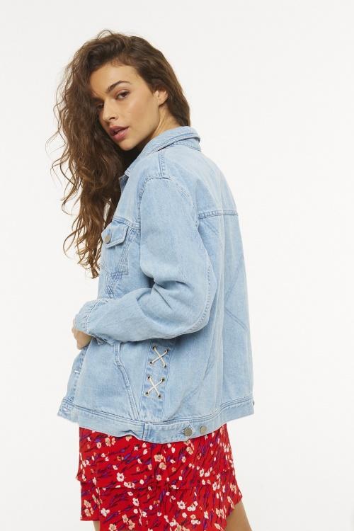 Eleven Paris - Veste en jean claire
