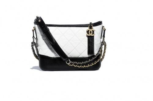 Chanel - Petit sac noir & blanc
