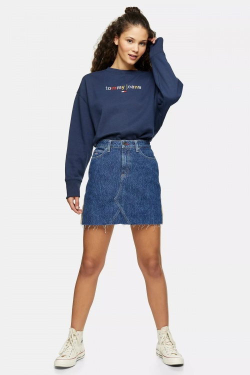 Topshop - Jupe en jean