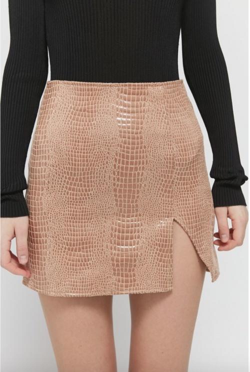 Urban Outfitters - Mini jupe simili cuir