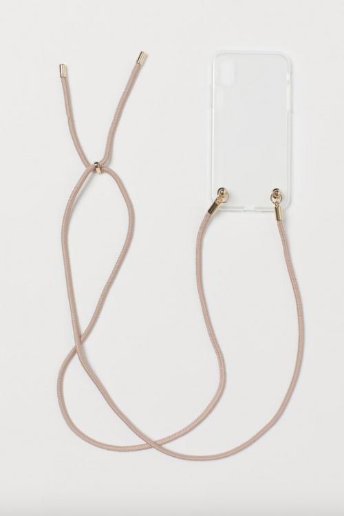 H&M - Coque cordon iPhone