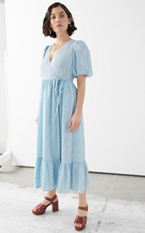 &Other Stories - Robe longue pastel