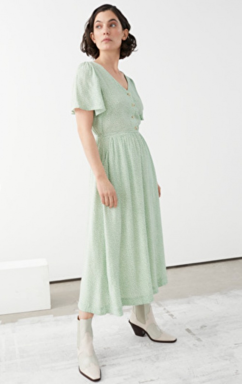 &Other Stories - Robe pastel