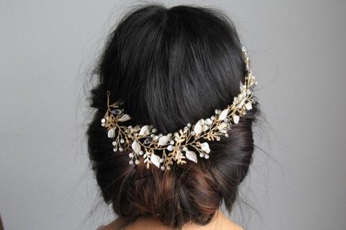 Etsy - Peigne à cheveux mariage