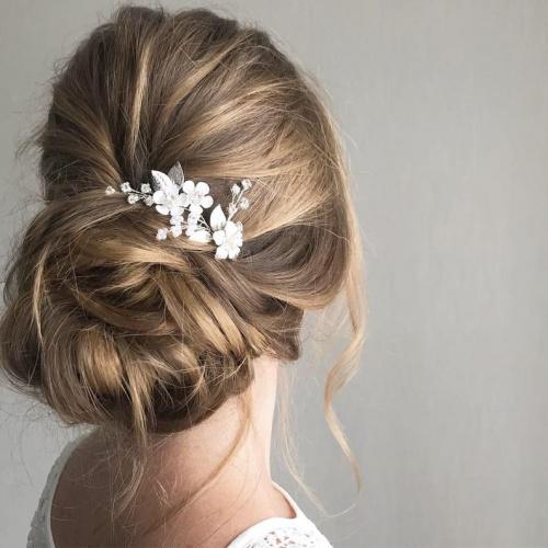 Etsy - Épingles de cheveux de mariée de cristal