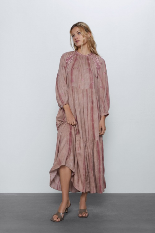 Zara - Robe tie & dye