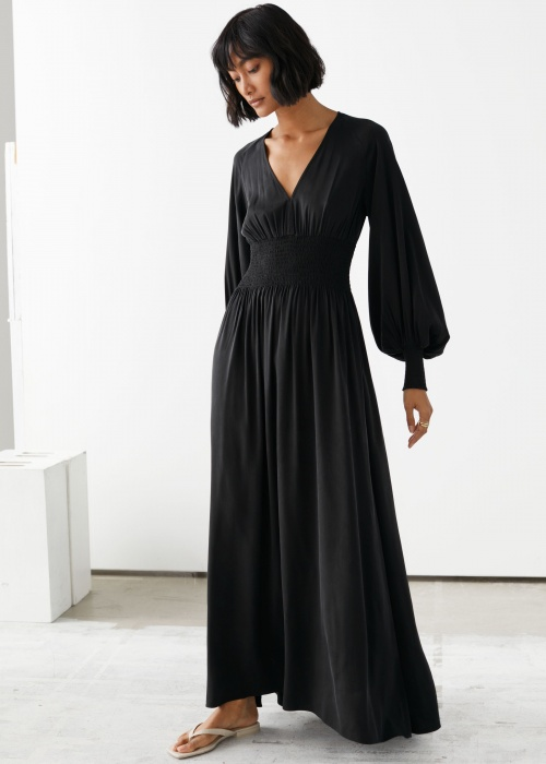 &Otherstories - Robe longue noire
