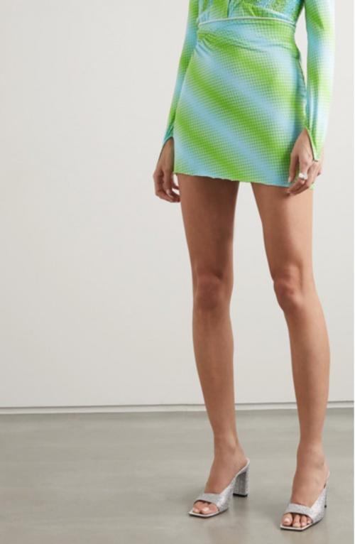 Maisie Wilen - Mini-jupe imprimée
