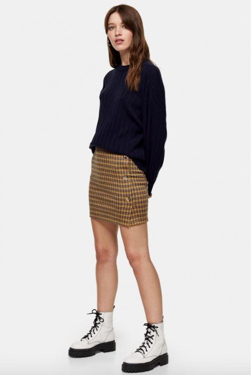 Topshop - Mini-jupe imprimée