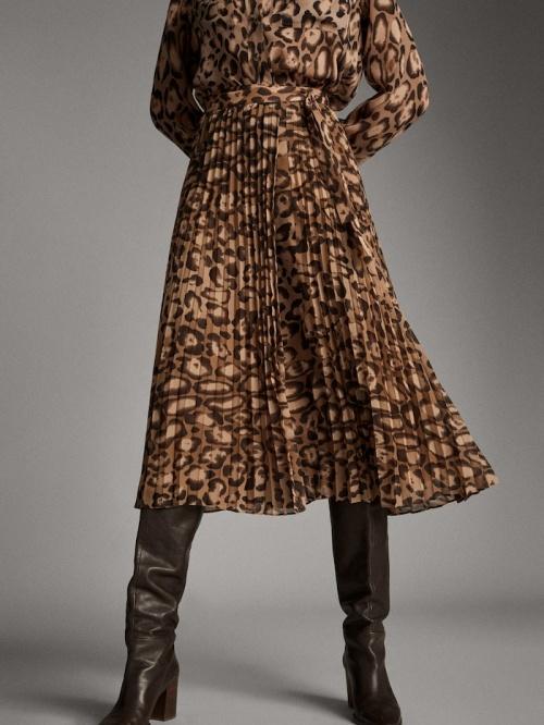 Massimo Dutti - Jupe plissée