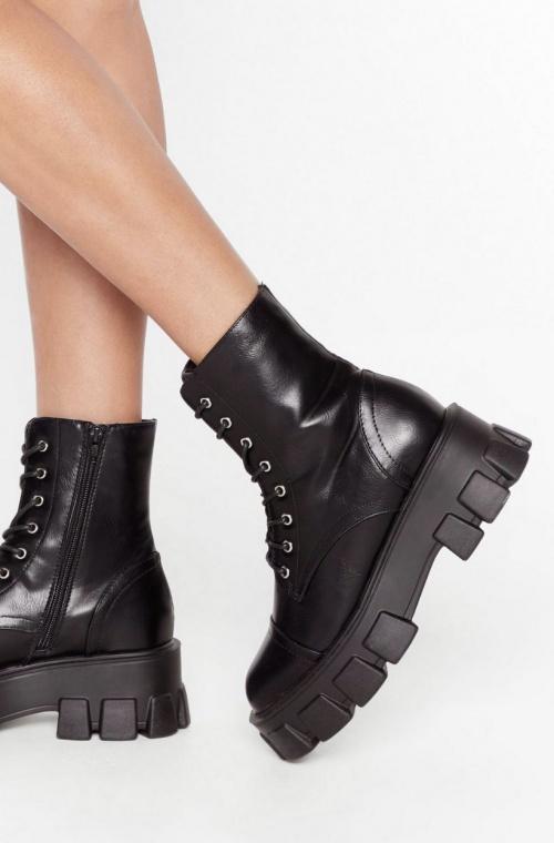 Nastygal - Boots crantées