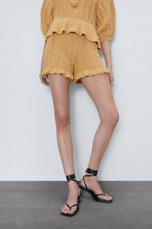 Zara - Short structuré