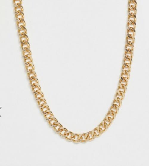 Asos Design - Chaine maillon