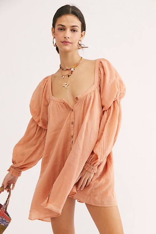 Free People - Robe col carré